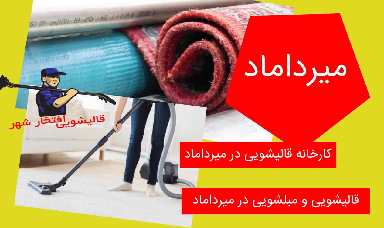 کارخانه قالیشویی در میرداماد